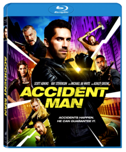 """Accident Man"" Blu-ray Cover"