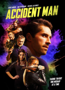 """""""Accident Man"""" Theatrical Poster"""