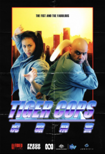 """Tiger Cops"" Promotional Poster"