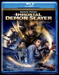 Immortal Demon Slayer - The Legend of Wu Kong | Blu-ray & DVD (Cinedigm)
