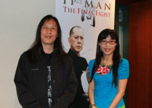 Herman Yau and Erica Li.
