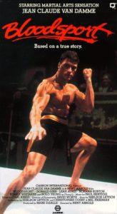 """Bloodsport"" VHS Cover"