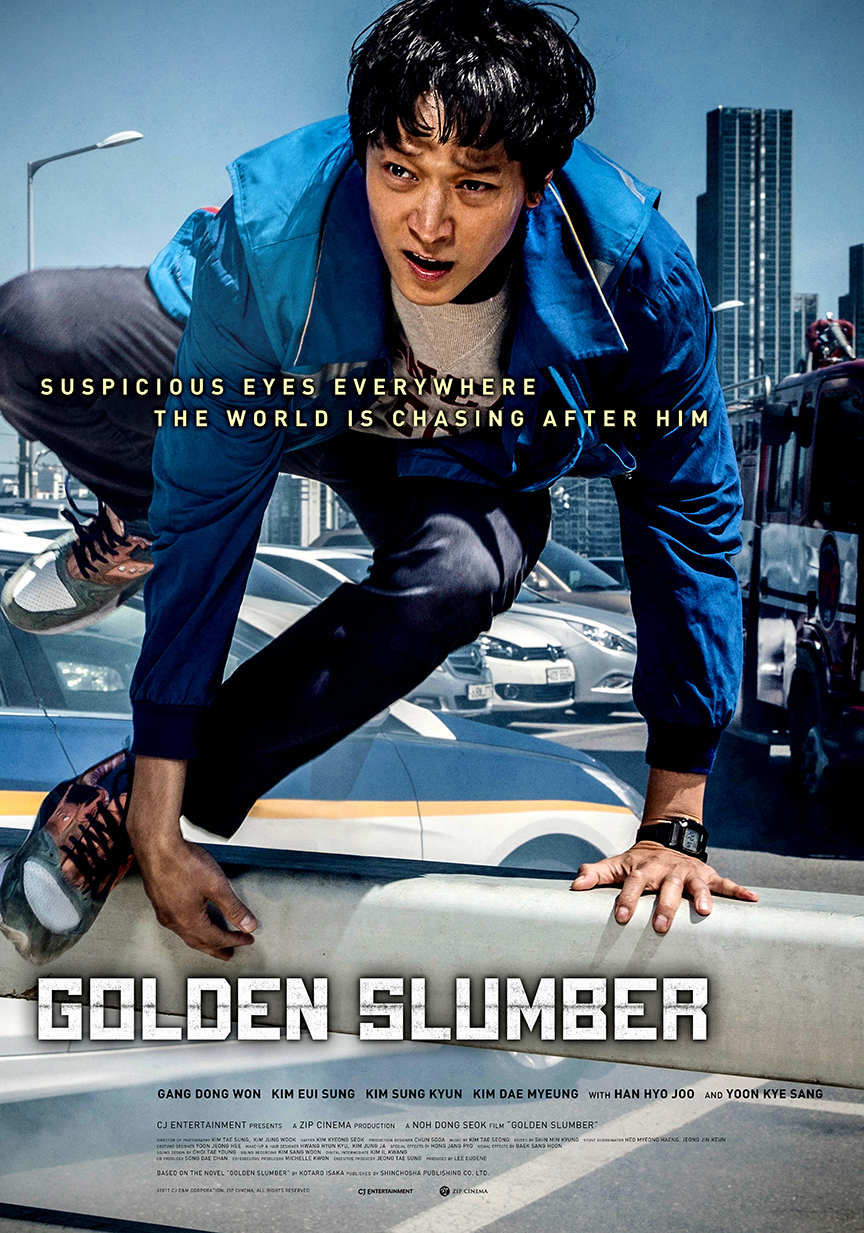 Golden Slumber (2018) 720p BluRay x264 ESubs Dual Audio [Hindi DD2.0 + Korean DD2.0]