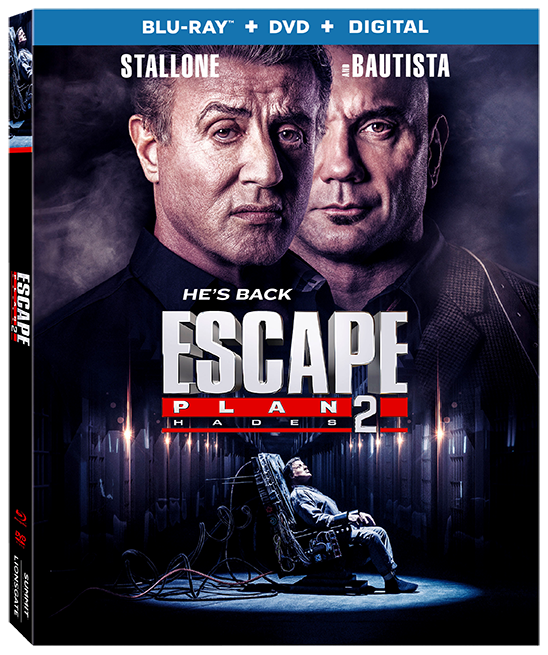 Escape Plan 2 Hades (2018) BRRip 720p 990MB Multi Line [Hindi-Telugu-English] ESubs MKV