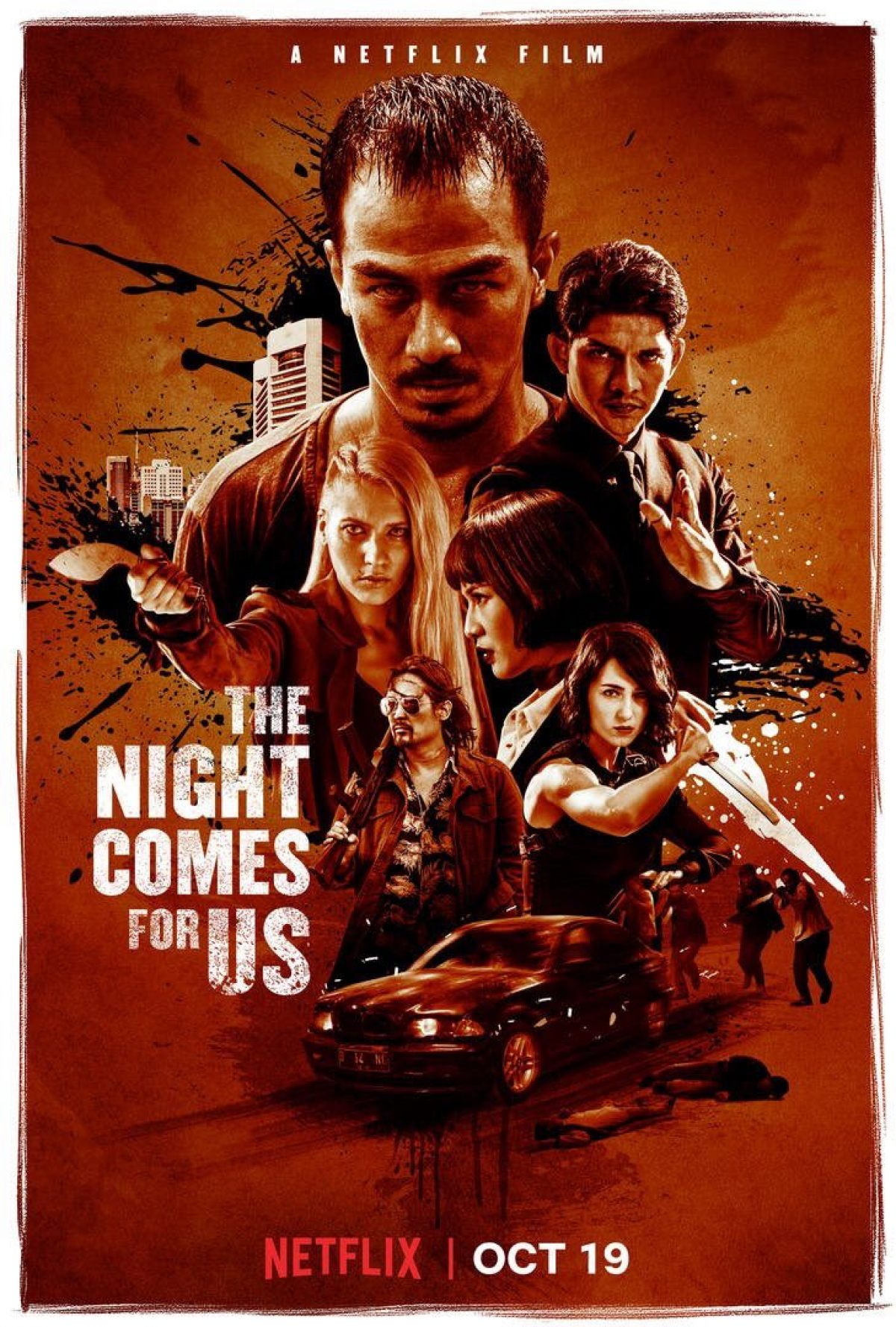 The Night Comes For Us' with a dark 'n deadly New Trailer